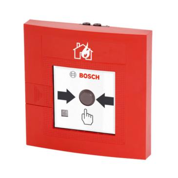 Kézi jelzésadó kettős működtetésű LSNi kültéri piros