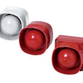 """<font color=""""#2d1fc6"""">FNM-420U-B-RD</font><p>LSN Sziréna Kültéri szünetmentes piros"""