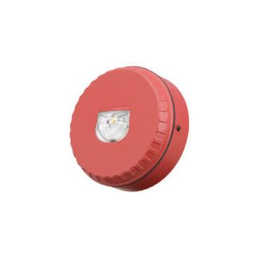 LX jelzőfény fehér villogás piros burkolat fali kivitel