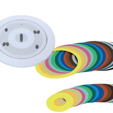 Sík (láthatatlan érzékelő) kombinált OC érzékelő színezhető