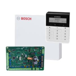 DS4000TEXT16-64 zónás központ szett Szöveges LCD kezelő fémdoboz tápegység