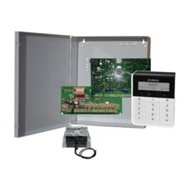 DS3000TEXT8 zónás központ szett Szöveges LCD kezelővel