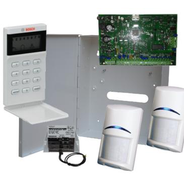 BOSCH AMAX3000 szett LCD8 kezelővel és 2 PIR