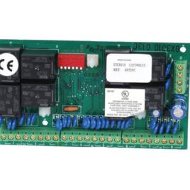 """<font color=""""#2d1fc6"""">DX3010</font><p>8 relés kiementi modul DS7000 AMAX központokhoz"""
