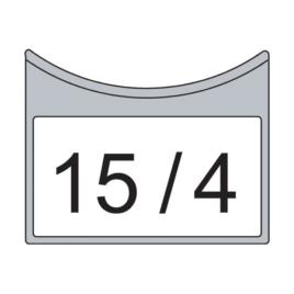 Jelölő tábla matricához 8 m-ig (50 db/csom) min. rendel. 1 csomag