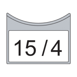 "<font color=""#2d1fc6"">TP8 400</font><p>Jelölő tábla matricához 8 m-ig (50 db/csom) min. rendel. 1 csomag"