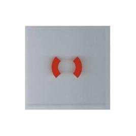 """<font color=""""#2d1fc6"""">DKM-SPARE-GLASS</font><p>Pótüveg DKM szériához G/H 80x80mm"""