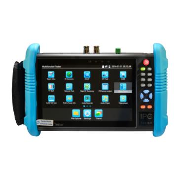 7″-os Teszter 1280×800 IPS érintés kijelző IP/analóg kamerákhoz