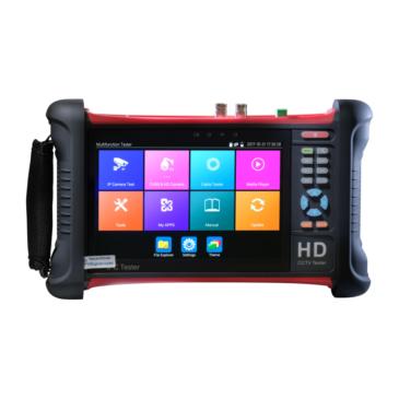 7″-os Kamera-teszter FullHD IPS kijelző IP/AHD TVI CVI CVBS