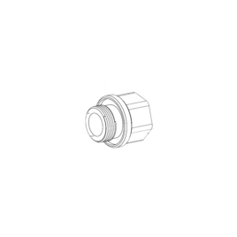 "<font color=""#2d1fc6"">MIC-M25XNPT34</font><p>M25–3/4″NPT Adapter rozsdamentes"