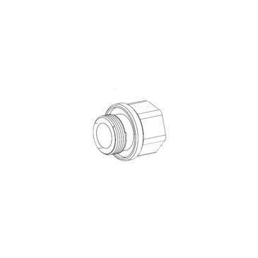 M25–3/4″NPT Adapter rozsdamentes