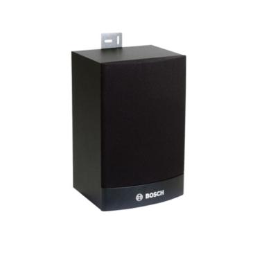 Dobozos Hangszóró 6W lapos MDF fekete fali és mennyezeti rögzítő