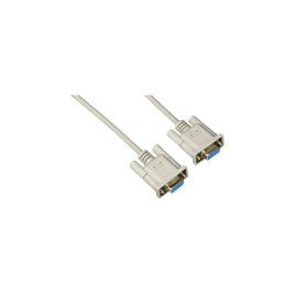 RS-232 standard null modem cable