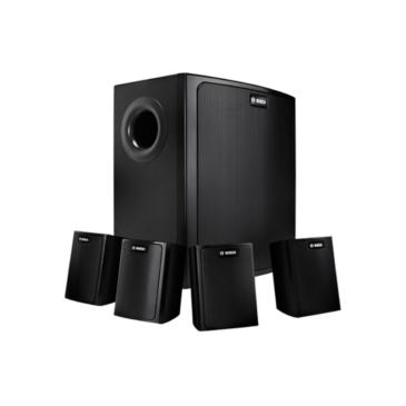 Falra szerelhető komplett hangszóró rendszer 70V/100V/8Ω Fehér