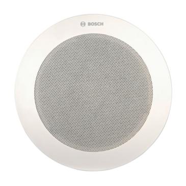 Mennyezeti hangszóró CosCone meghajtóval Hang-/Vészhang. ABS&Met. 6W 100V 8″ EN54-24