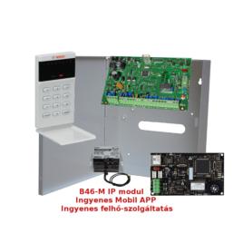 8 zónás központ LCD ikon kezelővel Mobil elérhetőséggel