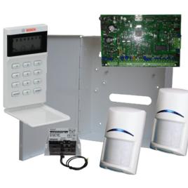 8 zónás központ LCD ikon kezelővel 2 PIR