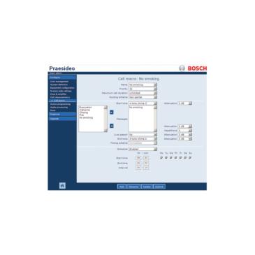 Praesideo Installation software