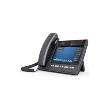 IP SIP / VoIP vállalati HD Voice Phone  6 SIP vonal kezelés Android  7″ érintőkijelző