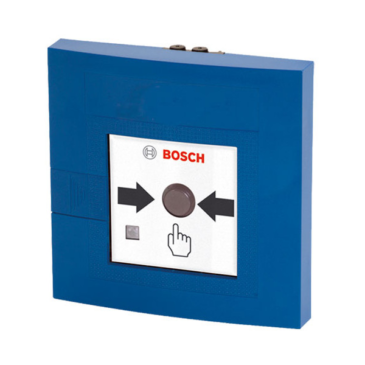 Kézi jelzésadó egyszeres működtetésű LSNi beltéri kék