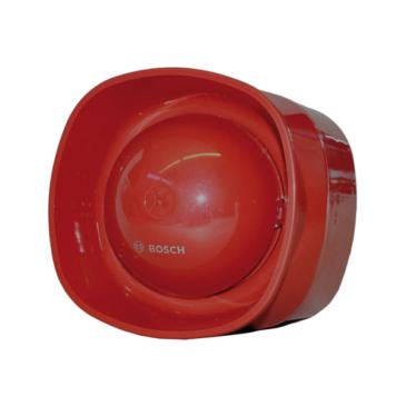 Hangbemondásos hangjelző beltéri piros