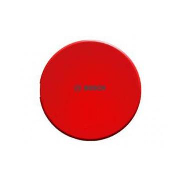 Fedőlap aljzat hangjelzőhöz piros