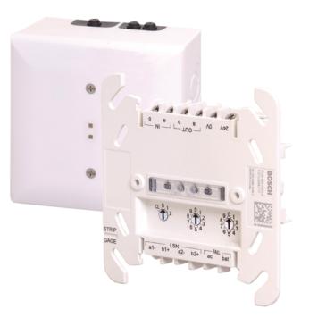 Felügyelt Hangjelző vezérlő modul DIN sínre LSN-LSNi hurokra