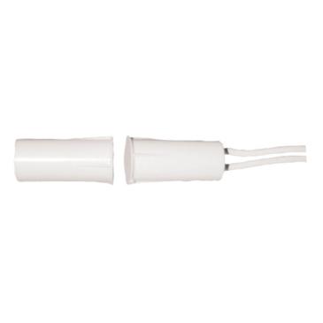 Fehér süllyesztett szerelésű nyitásérzékelő (9.5 mm x 19 mm)
