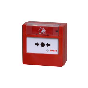 Hagyományos Kézi jelzésadó üvegtörős piros (820 Ohm)
