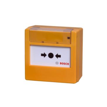 Hagyományos Kézi jelzésadó üvegtörős sárga (820 Ohm)
