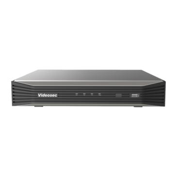8/max16 csatornás NVR 8 PoE 2HDD Be:64 Ki:96 Mb/s