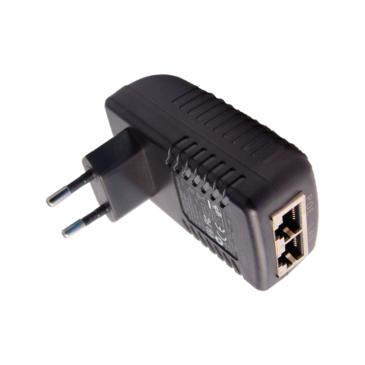 230VACcsatlakozóba integrált POE injektor 48VDC/1500mA