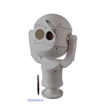 IP fusion 9000i Dual PTZ  Hőkamera QVGA-19mm 9Hz és 2MP 30xzoom szürke