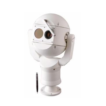 IP fusion 9000i Dual PTZ  Hőkamera QVGA-19mm 9Hz és 2MP 30xzoom fehér