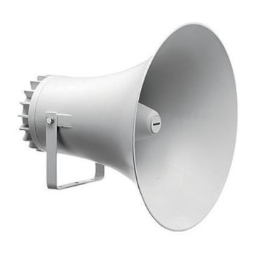 Tölcsér hangszóró Kültéri ABS  20″  IP65 meghajtó nélküli
