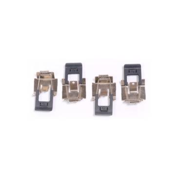 LED panel rögzítő rugós klipsz szervízalkatrész