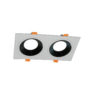 Dupla Szögletes  beépítőkeret MCOB-50 modulokhoz