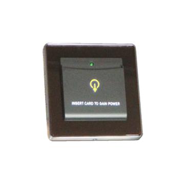 Energiakapcsoló Hotelszobához Mifare 13.56MHz kártya fekete