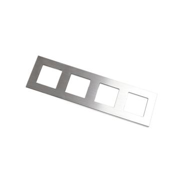 1 érintő gombos kapcsoló-modul soroló keretbe Fehér