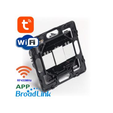 1 áramkörös Süllyesztett Érintőkapcsoló modul Wifi és RF433MHz Mobil APP