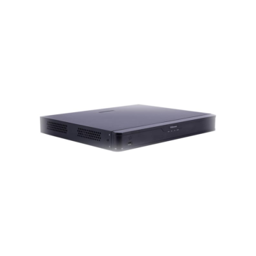 16 csatornás NVR 2HDD Be:112 Ki:96 Mb/s