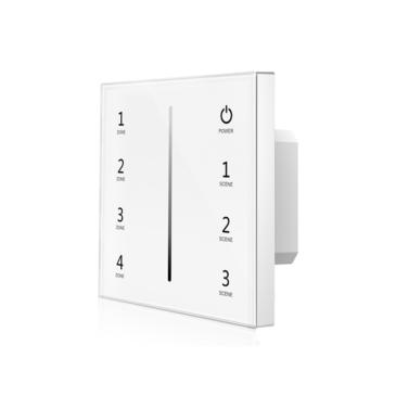 Érintéses DMX512 Master 4 csatornás fényerőszabályzó beépített RF adóval
