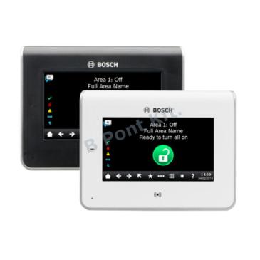 Színes érintőképernyős Grafikus kijelző kártyaolvasóval (fehér)