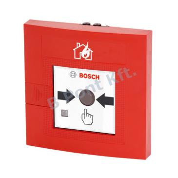 Kézi jelzésadó egyszeres működtetésű LSNi beltéri piros