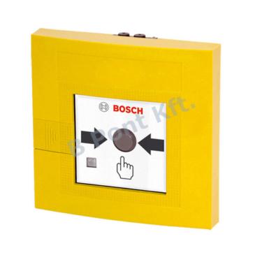 Kézi jelzésadó kettős működtetésű LSNi beltéri sárga
