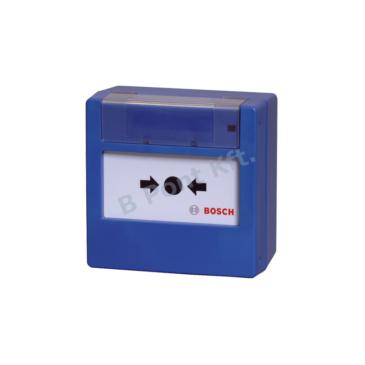 Hagyományos Kézi jelzésadó üvegtörős kék (820 Ohm)