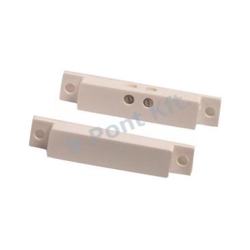 Fehér sorkapcsos felület szerelésű nyitásérzékelő