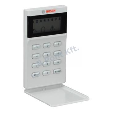 8 zónás LCD ikon kezelőegység, Bosch AMAX vezérlőkhöz