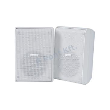 Dobozos Hangszóró 5″ 70/100V Fehér  Párban IP65