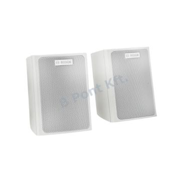 Falra szerelhető szatellit hangszóró  70V/100V/8Ω Fehér